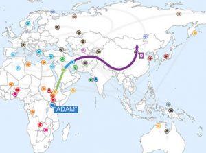 Family Tree DNA erfahrung väterliche dna-test-ergebnisse karte