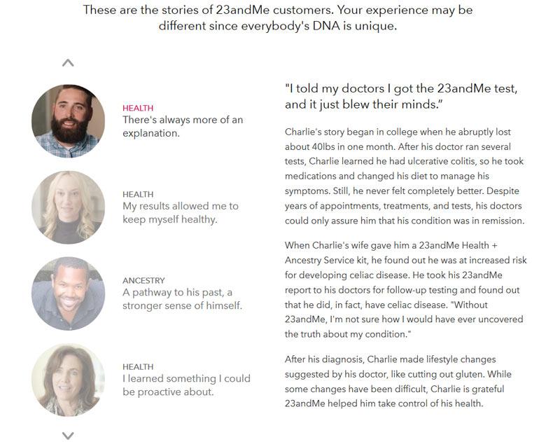 Wie funktioniert der 23 andMe DNA-Test?